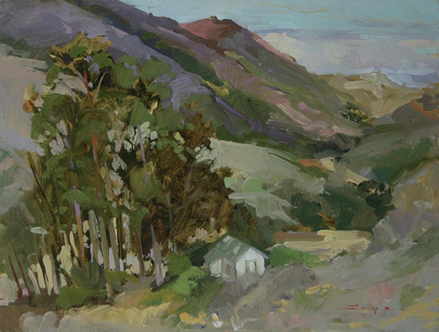 - Catalina Island Painting by Betty Jean Billups