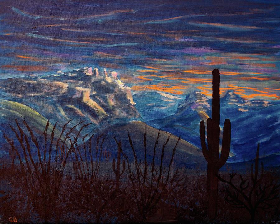 Catalina Mountains Sunrise, Tucson Arizona by Chance Kafka