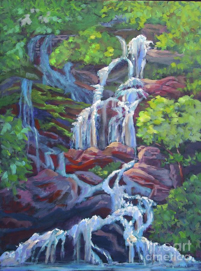 Catawba Falls by Anne Marie Brown