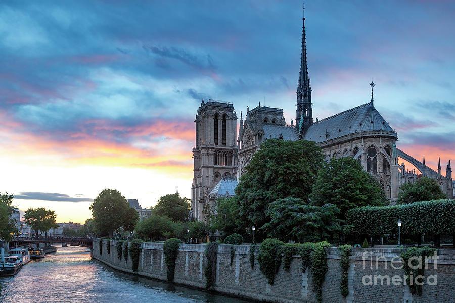 Cathedral Notre Dame - Paris II Photograph