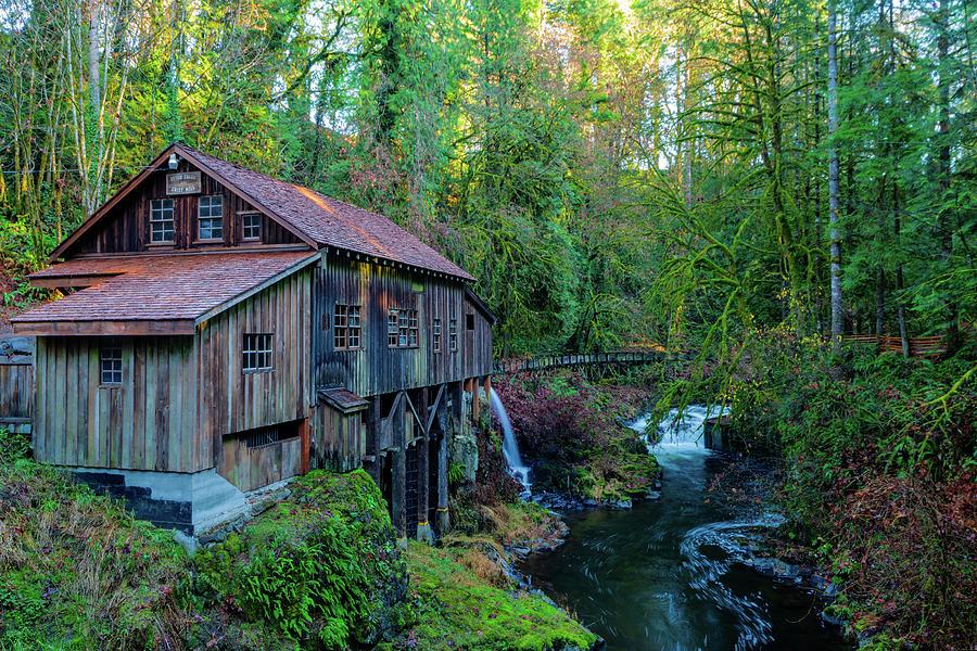 Cedar Creek Grist Mill by Michael Lee