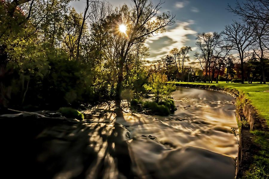 Cedar Creek On A Sunny Morning Photograph