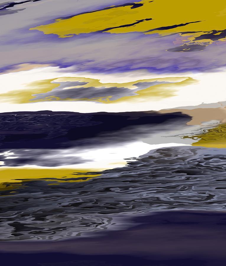 Michal Painting - Celestial Horizon 264 by Michal Mitak