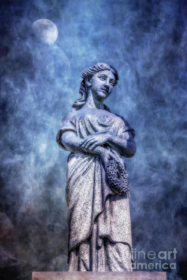 Cemetery Monument Statue Ver Three Digital Art