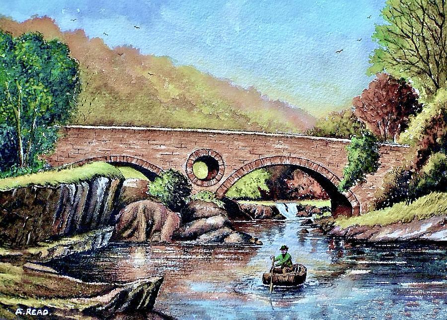 Cenarth Bridge 3 Painting