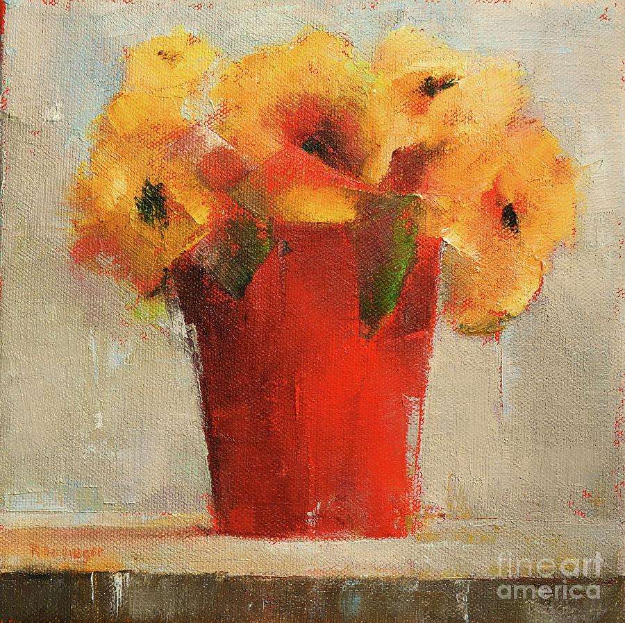 Cerise Painting - Cerise by Paint Box Studio