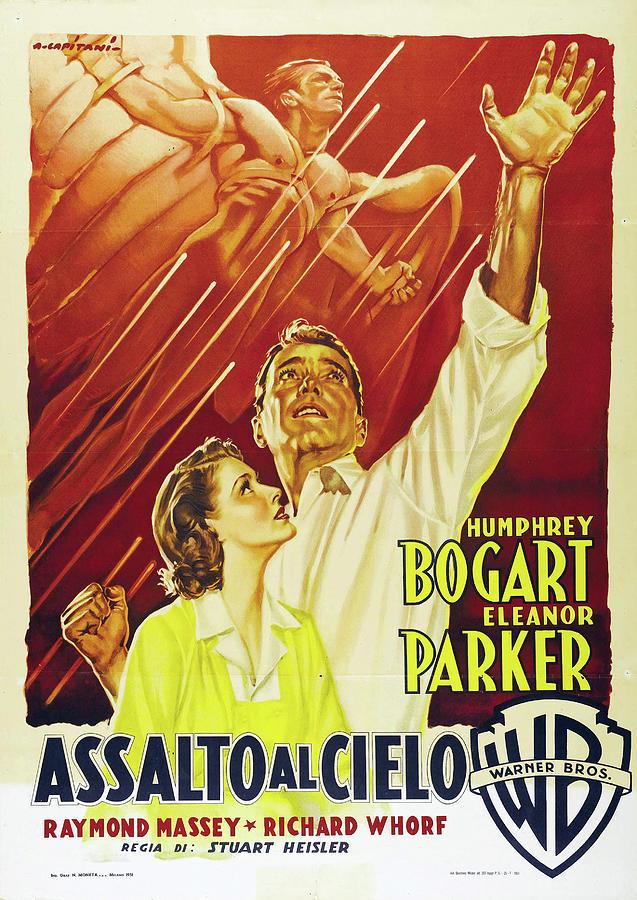 chain Lightning, With Humphrey Bogart, 1950 Mixed Media