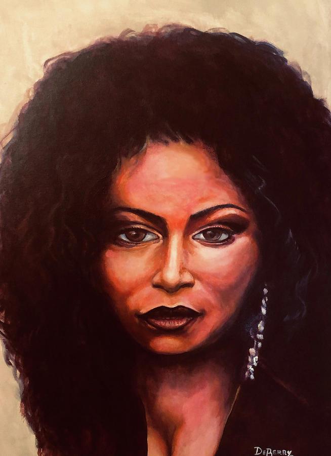 Chaka Painting by Lloyd DeBerry
