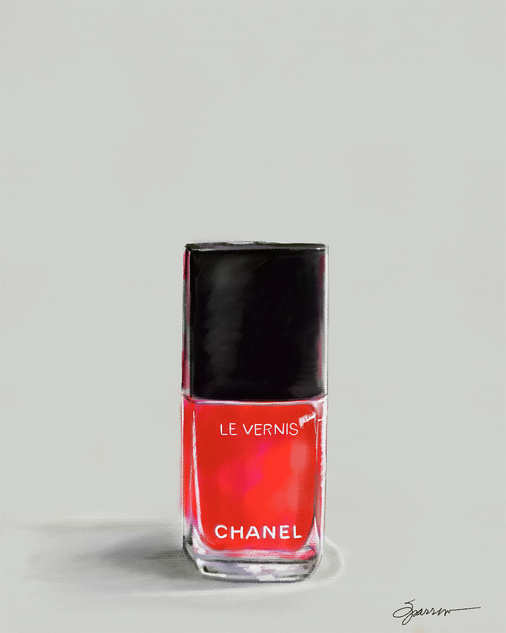 Chanel Rouge Painting