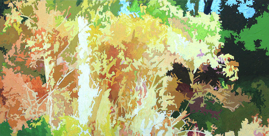 Autumn Painting - Changing Seasons by John Lautermilch