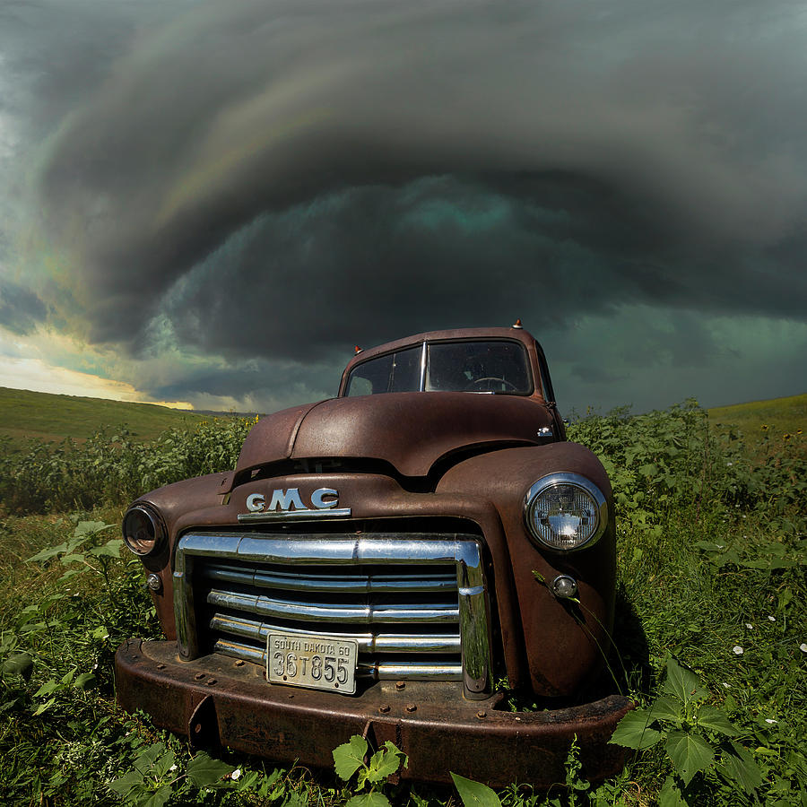 Chaos And Rust  Photograph by Aaron J Groen