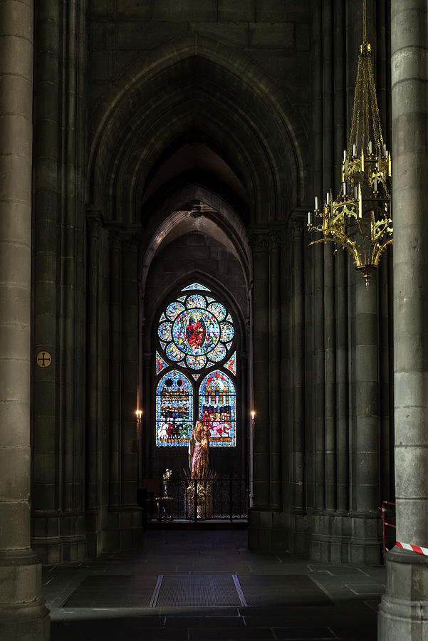 Chapel of the Apocalypse in Clermont-Ferrand Cathedral by RicardMN Photography