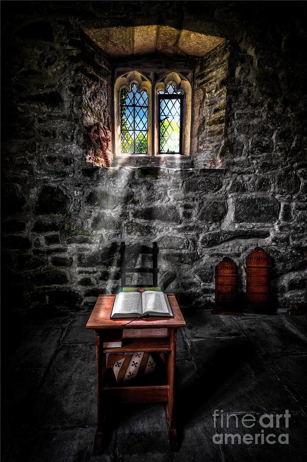 Chapel Sun Light by Adrian Evans