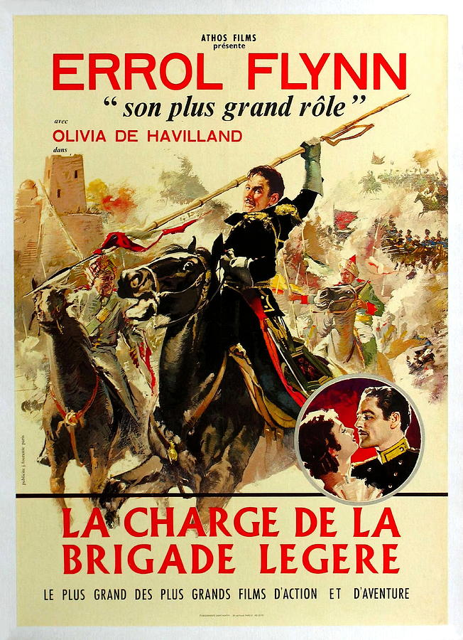 charge Of The Light Brigade With Errol Flynn, 1936 Mixed Media