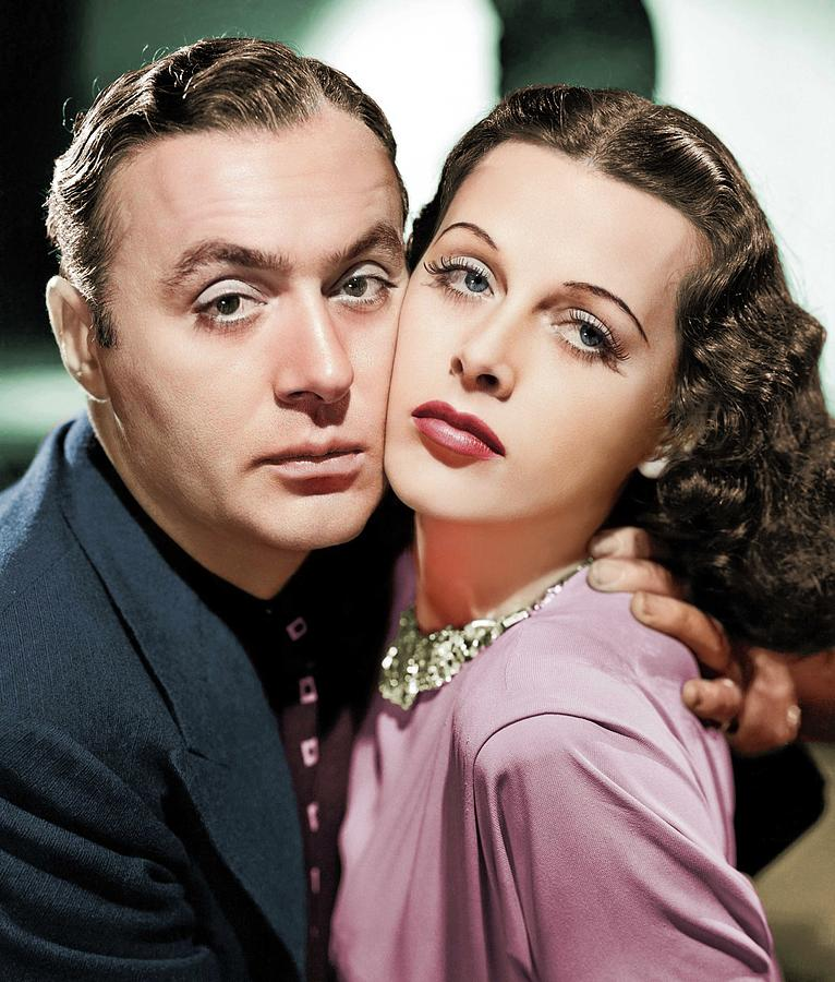 Charles Boyer And Hedy Lamarr Photograph