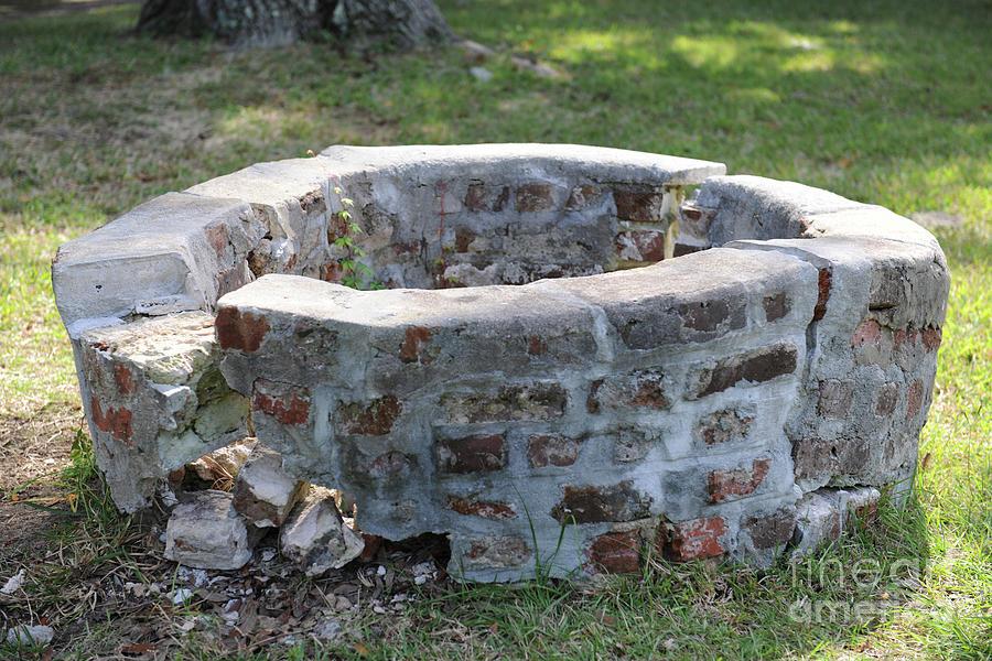 Charles Pinckney Well Ruins Photograph
