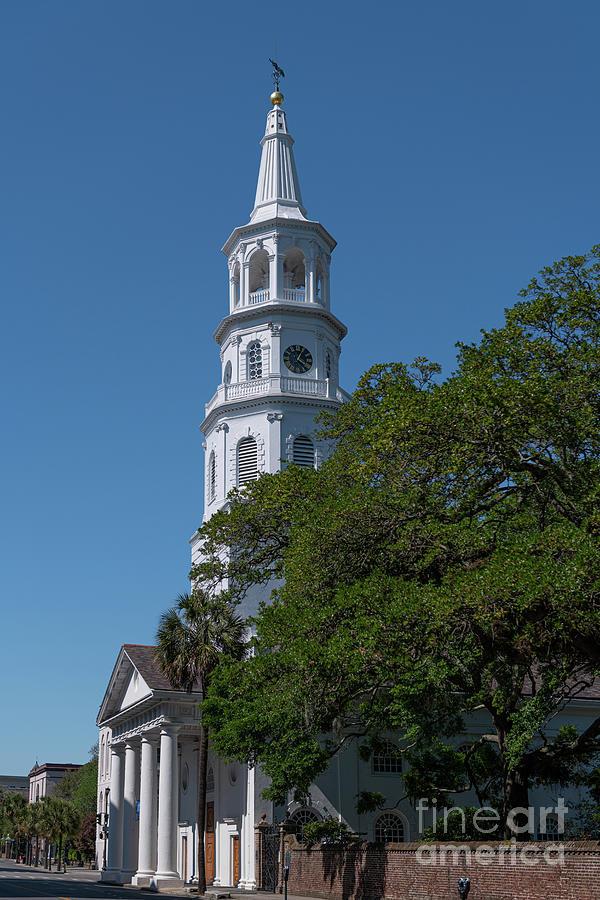 Charleston Churches - St. Michaels Photograph