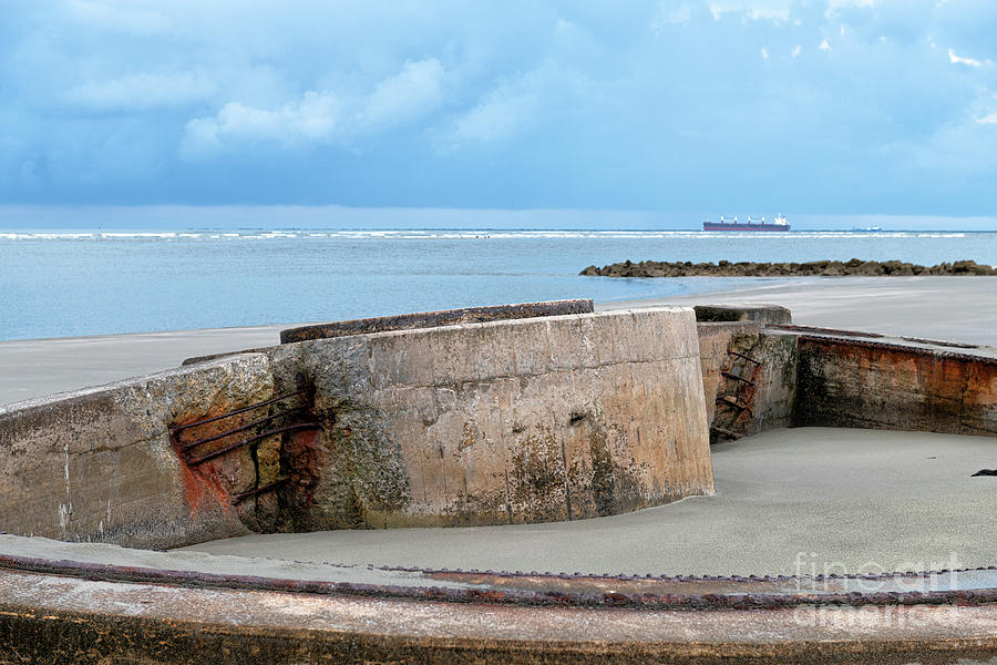 Charleston Coastal Defense - Sullivans Island - Panama Mount Photograph