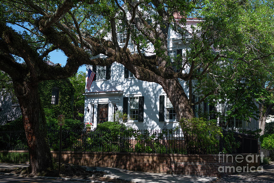 Charleston Historic Home Curb Appeal Photograph