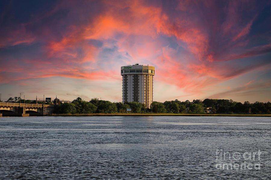 Charleston Lodging - Ashley River Photograph