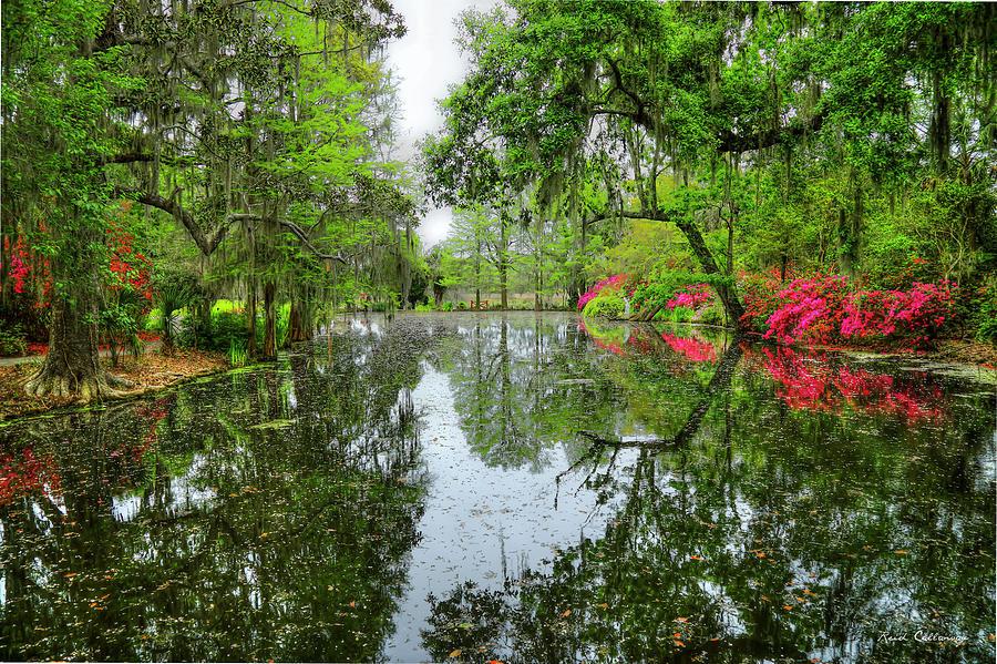 Charleston Sc Magnolia Plantation Reflections Landscape Art Photograph