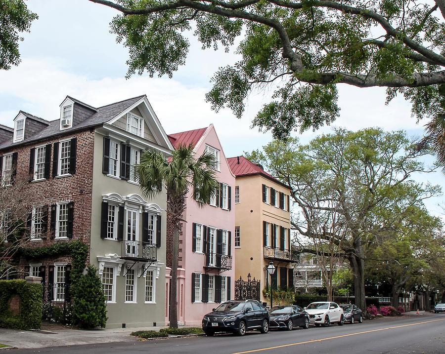 Charleston Single House Photograph