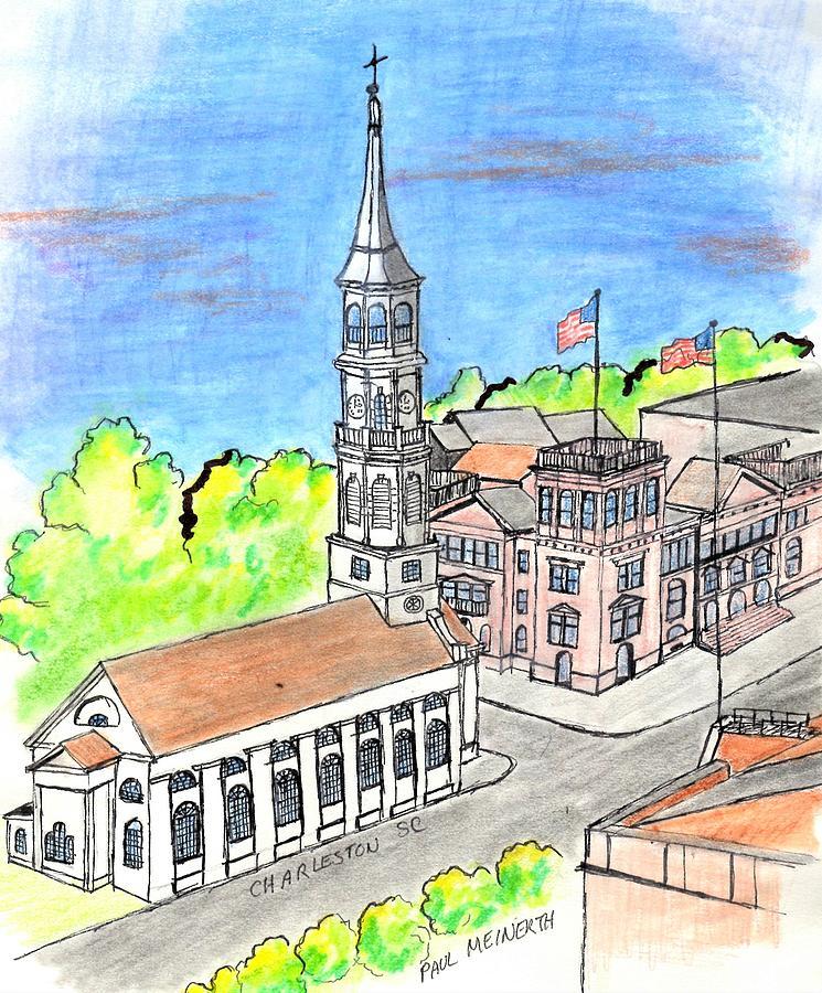 Charleston Virginia Drawing
