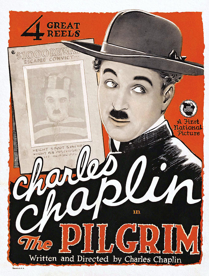 Charlie Chaplin, The Pilgrim First National, 1921 by First National