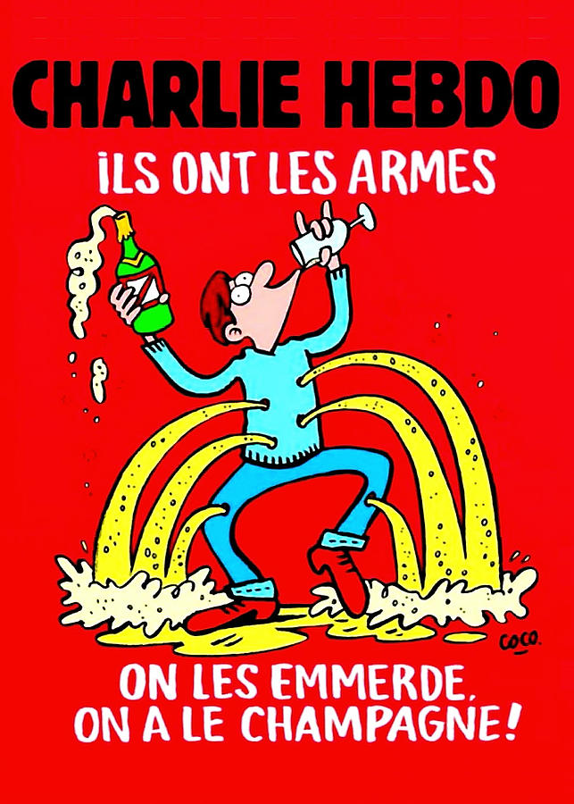 Charlie Hebdo by Larry Beat