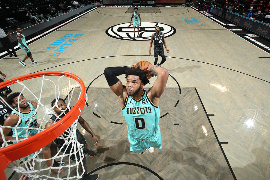 Charlotte Hornets v Brooklyn Nets Photograph by Nathaniel S. Butler