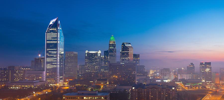 Charlotte Morning Skyline Photograph