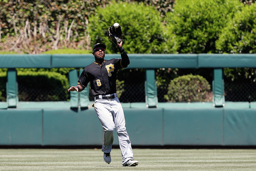 Chase Utley and Starling Marte Photograph by Brian Garfinkel