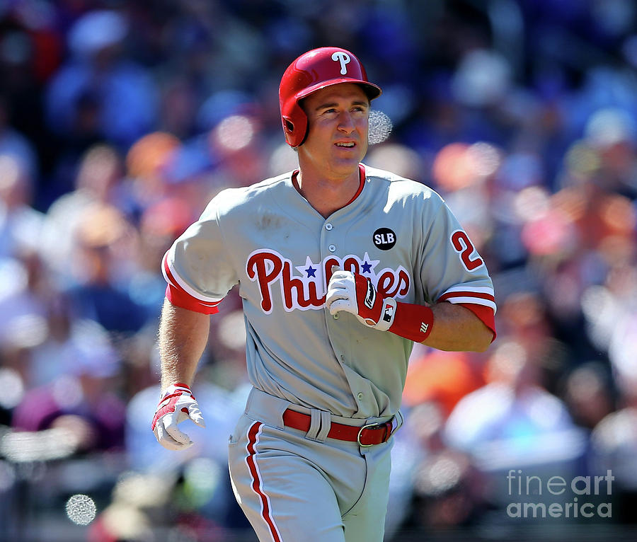 Chase Utley Photograph by Elsa