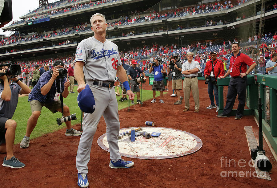 Chase Utley Photograph by Hunter Martin