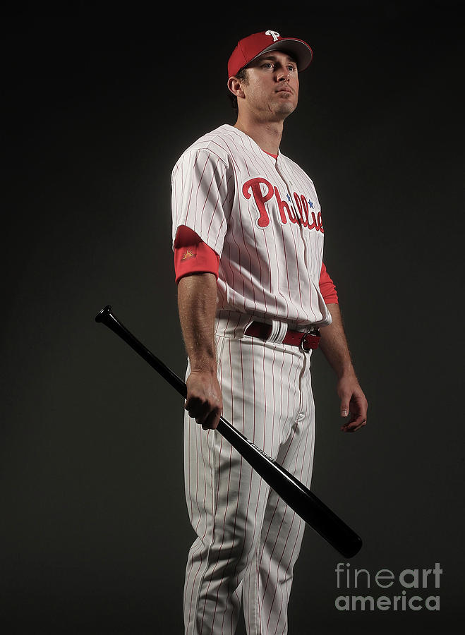 Chase Utley Photograph by Nick Laham