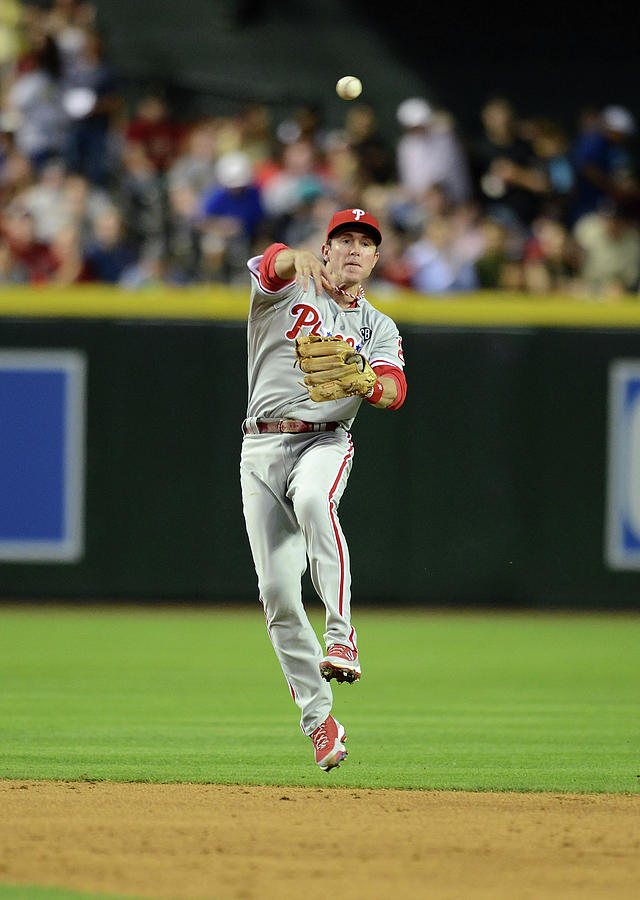 Chase Utley Photograph by Norm Hall