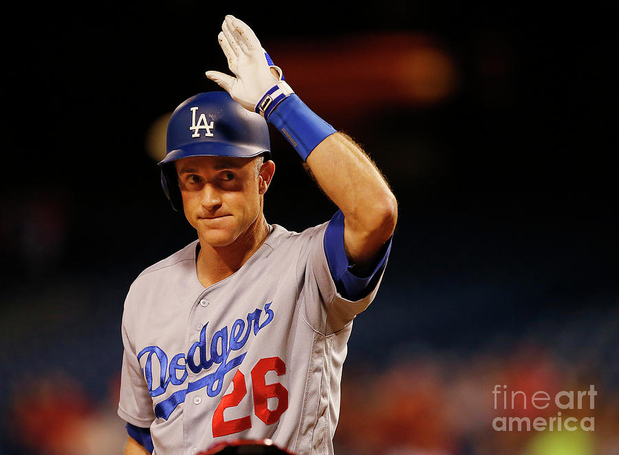 Chase Utley Photograph by Rich Schultz