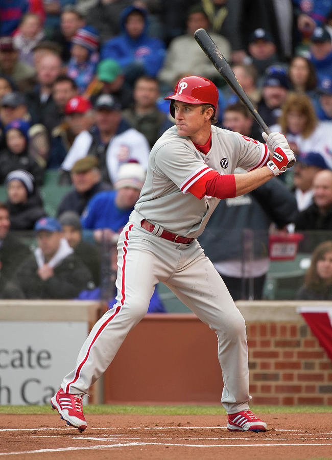 Chase Utley Photograph by Ron Vesely