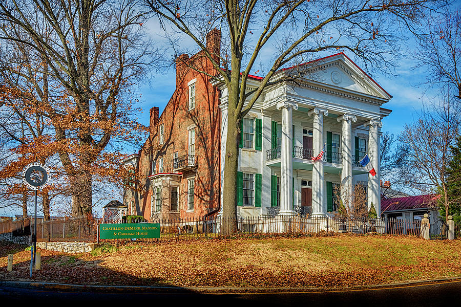 Chatillon-DeMenil Mansion St Louis MO GRK7971_12102019-HDR  by Greg Kluempers