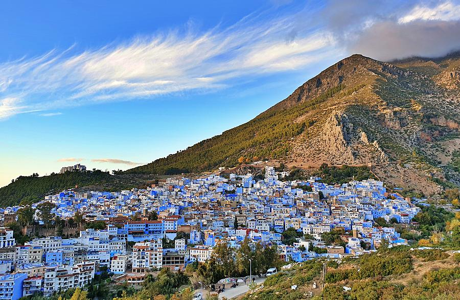 Chefchaouen - The Blue City by Andrea Whitaker