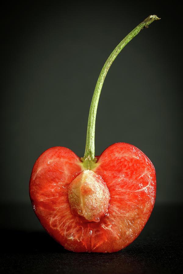 Cherry Heart Photograph
