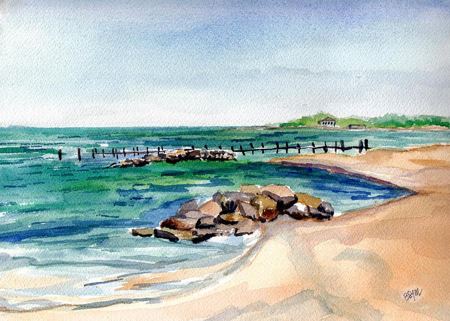 Cherrytone Campground Beach by Clara Sue Beym