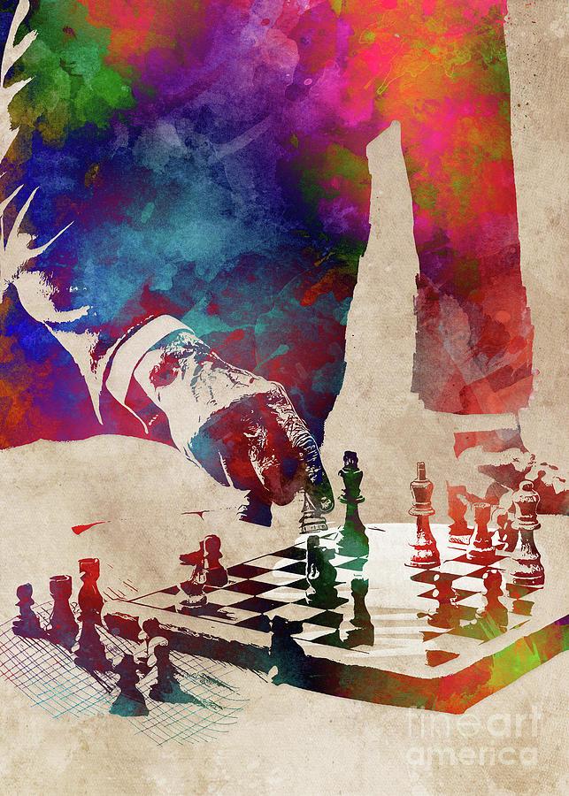 Chess #chess #sport Digital Art