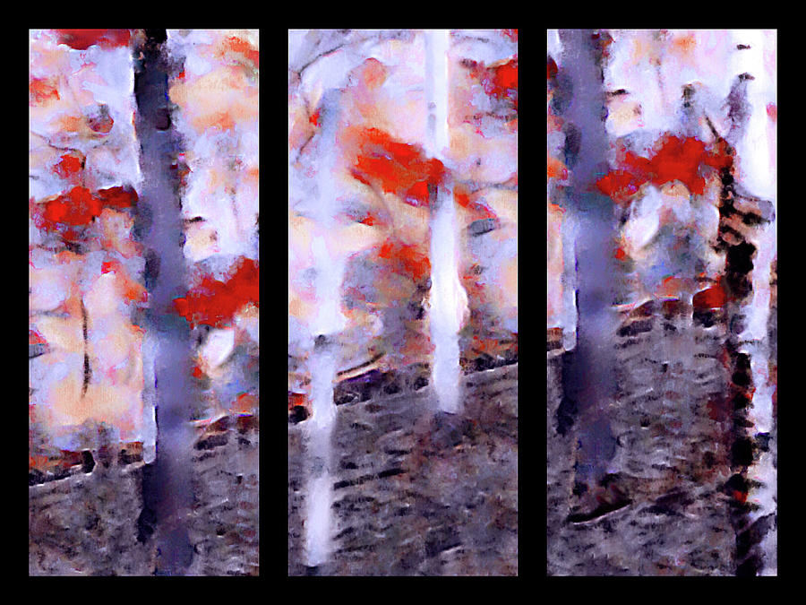 Chester County Color - Triptych by Susan Maxwell Schmidt