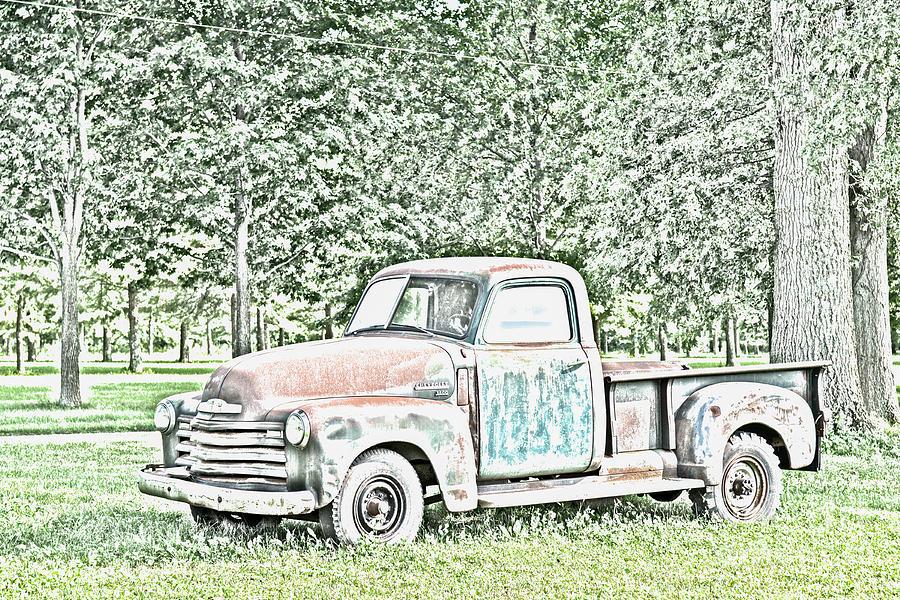 Chevrolet 3600 Pickup by Ohio Stock Photography Art Prints
