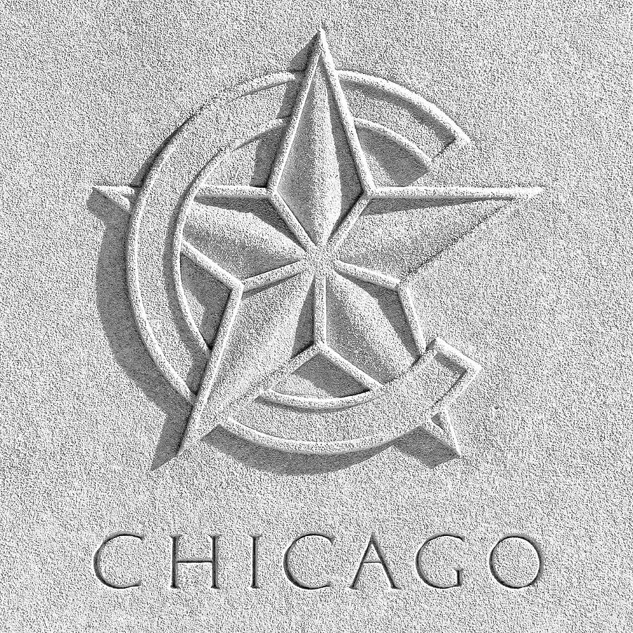 Chicago Art Deco Star Photograph