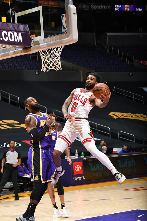 Chicago Bulls v LA Lakers Photograph by Adam Pantozzi