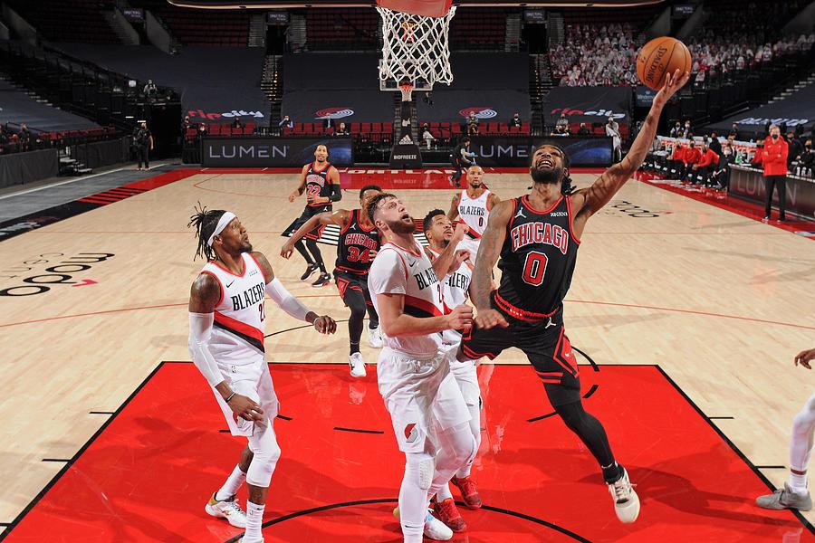 Chicago Bulls v Portland Trail Blazers Photograph by Cameron Browne