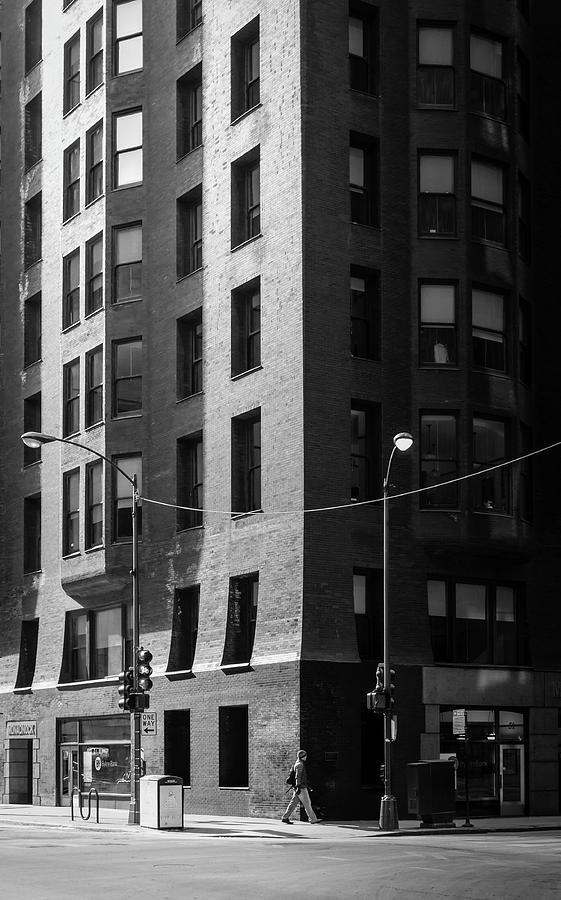 Chicago - Monadnock The Dark Side Photograph