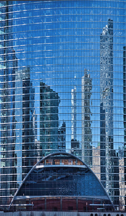 Chicago reflections by Steven Ralser
